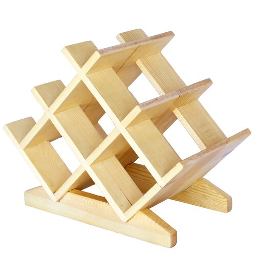 Bordeaux 8 Bottle Tabletop Wine Rack