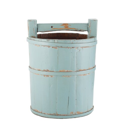 Antique Revival Vintage Wooden Soy Bucket