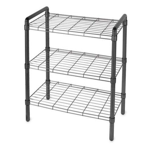 "Delta Design Art of Storage Quick Rack 30"" H 3 Shelf Shelving Unit"