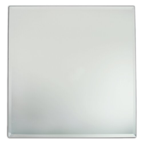 """ChargeIt! by Jay 13"""" Square Mirror Charger Plate"""