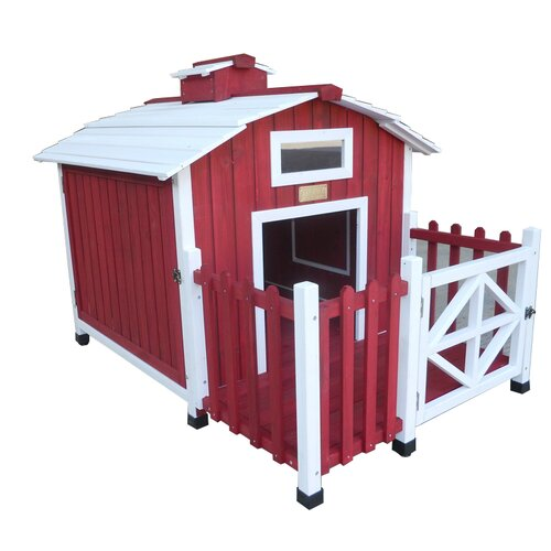 Advantek The Country Barn Dog House