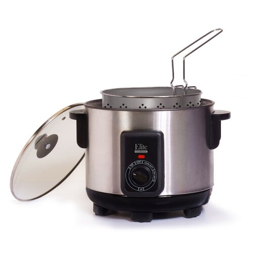 Elite Cuisine 4.7 Liter Multi Deep Fryer