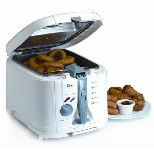 Elite Cuisine 4.7 Liter Cool Touch Deep Fryer