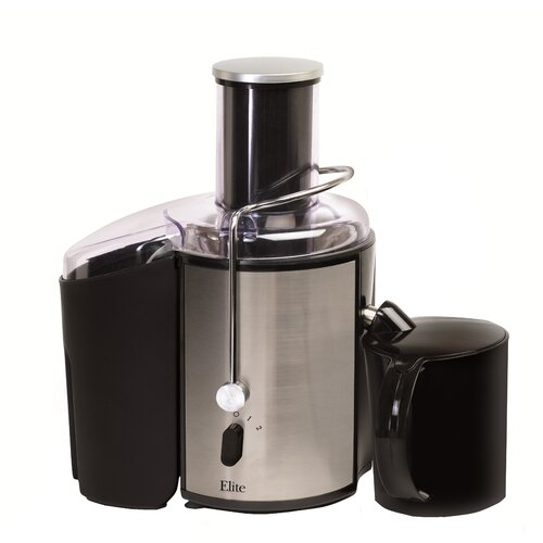 Elite Platinum Stainless Steel 2-Speed Juicer