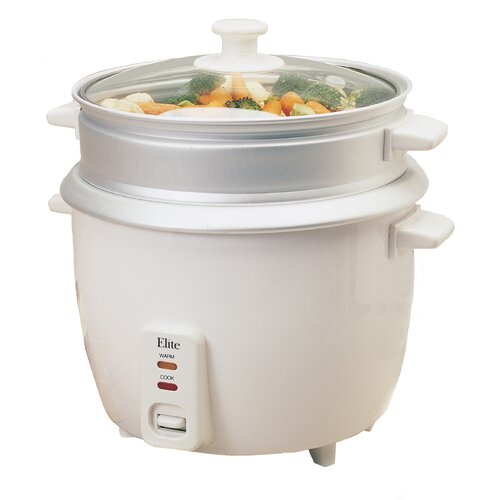 Elite Gourmet 8-Cup Rice Cooker