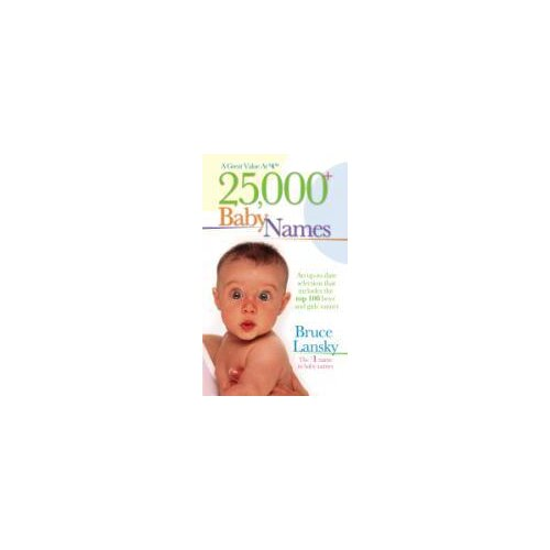 Simon & Schuster 25000 Baby Names Book