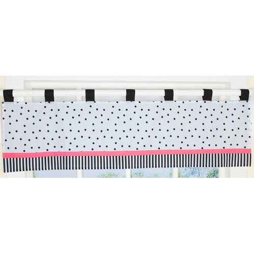 "Geenny Flower and Dot 58"" Curtain Valance"