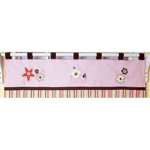 "Geenny Floral Dream 58"" Curtain Valance"