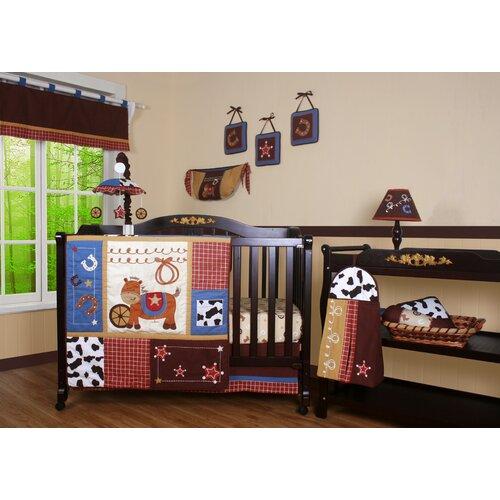 Boutique Horse Cowboy 13 Piece Crib Bedding Set