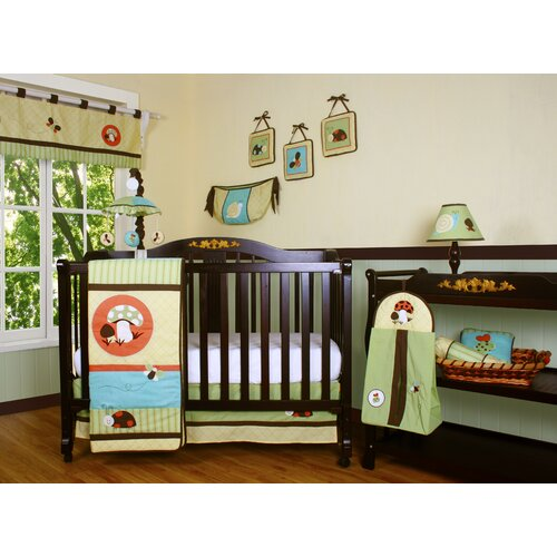 Boutique Garden Paradise 13 Piece Crib Bedding Set