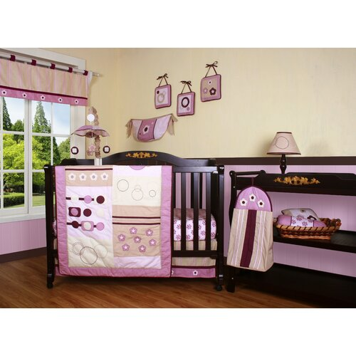 Boutique Baby Girl Artist 13 Piece Crib Bedding Set