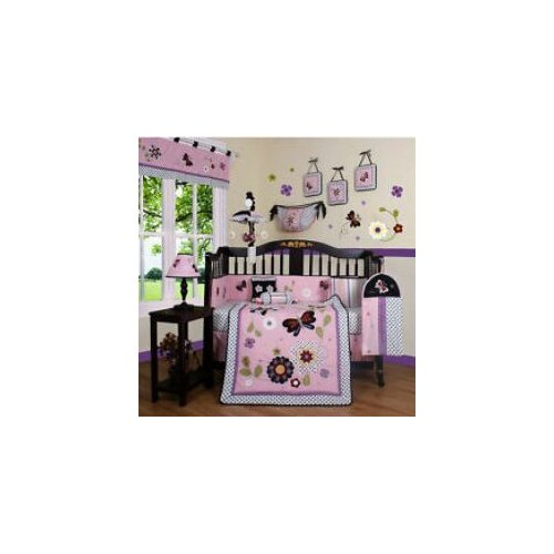 Geenny Boutique Daisy Garden 13 Piece Crib Bedding Set