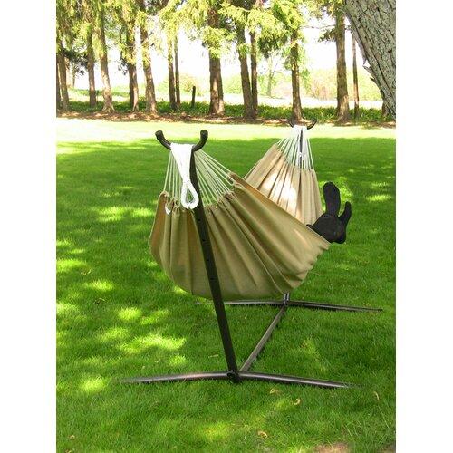 Vivere Hammocks Combo - Sunbrella Hammock with Stand