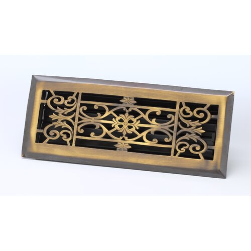 "Zoroufy 4"" x 14"" Decorative Floor Register"
