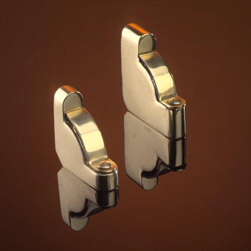 "Zoroufy Heritage 28.5"" Roped Tubular Stair Rod Set Extended Classic Brackets"