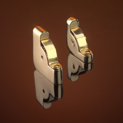 """Zoroufy Heritage 108"""" Solid Stair Rod Set Extended Brackets Round Finial"""