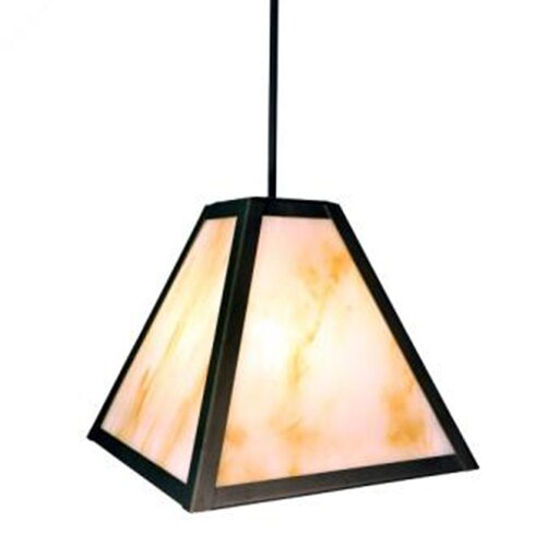Steel Partners Timber Ridge 1 Light Hanging Lantern