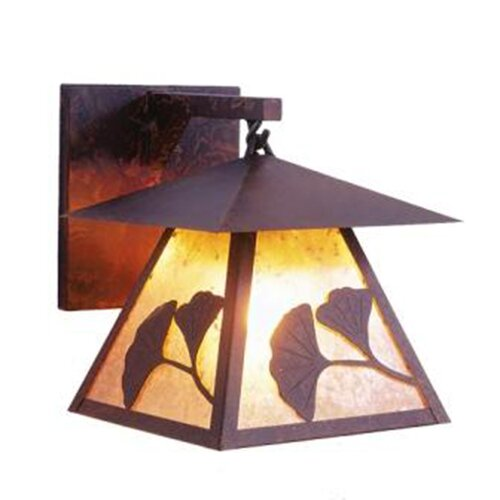 Steel Partners Gingko Prairie 1 Light Hanging Wall Sconce