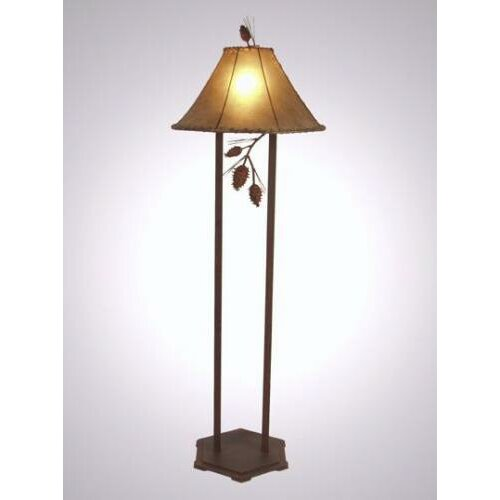 Steel Partners Ponderosa Pine Floor Lamp