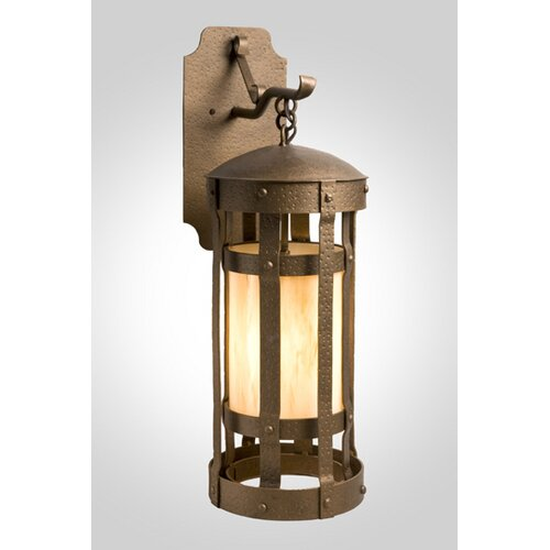 Steel Partners Duomo 1 Light Hanging Wall Sconce