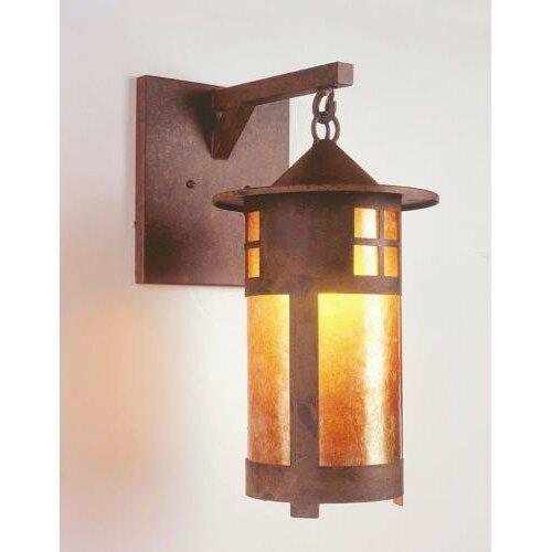 Steel Partners Pasadena 1 Light Outdoor Hanging Wall Lantern