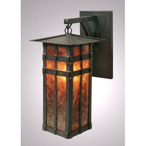 Steel Partners San Carlos 1 Light Outdoor Hanging Wall Lantern
