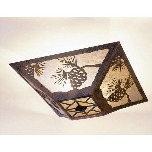 Steel Partners Pinecone Drop Ceiling Mount