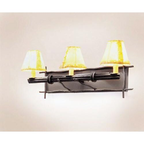 Steel Partners Bundle of Sticks 3 Light Vanity Light