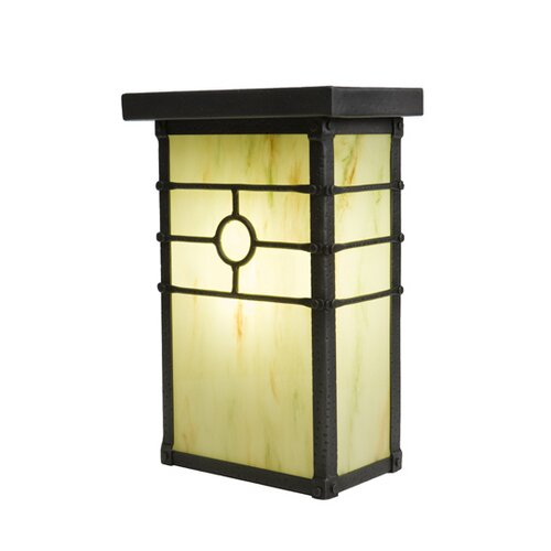Steel Partners Historic California 1 Light Outdoor Wall Lantern
