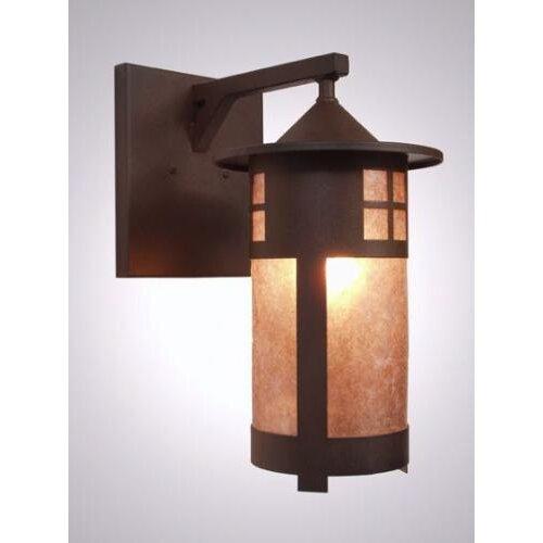 Steel Partners Pasadena 1 Light Outdoor Wall Lantern