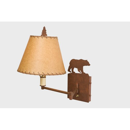 Steel Partners Bear Swing Arm Wall Lamp