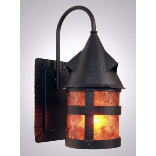 Steel Partners Portland Wet 1 Light Wall Sconce