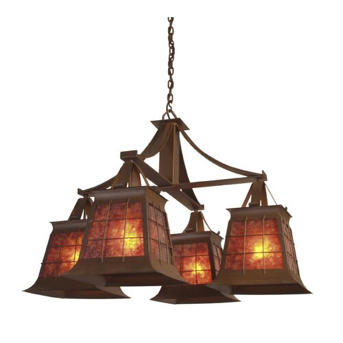 Top Ridge 4 Light Chandelier