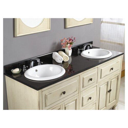 """Ove Decors Birmingham 60"""" Double Bathroom Vanity Set"""
