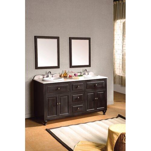 """Ove Decors London 60"""" Double Bathroom Vanity Set"""