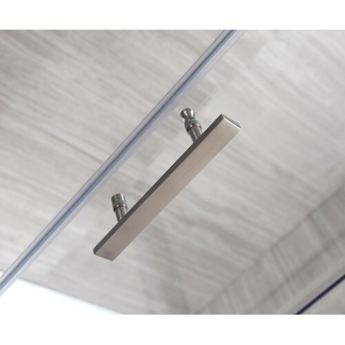 Ove Decors 60'' Glass Sliding Door Shower Enclosure with Acrylic Base