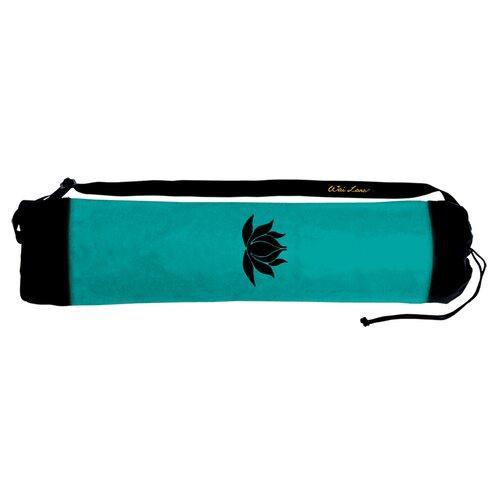Wai Lana Jade Lotus Tote Bag with Black Lotus
