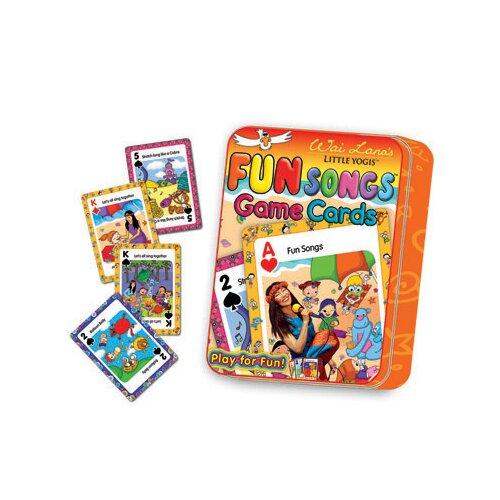 Wai Lana Little Yogis Kids Fun Songs Game Cards