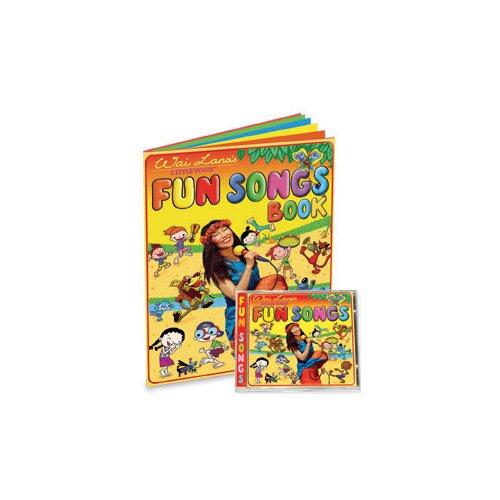 Wai Lana Little Yogis Kids Fun Songs CD and Lyrics Book