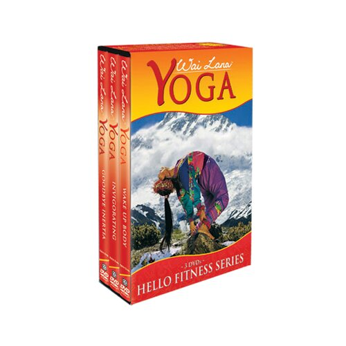 Wai Lana Yoga Hello Fitness Series DVD Tripack