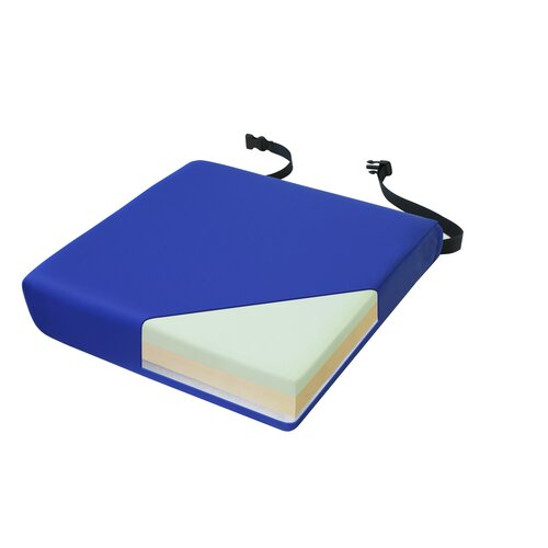 NYOrtho Apex Memory Foam Cushion in Royal Blue