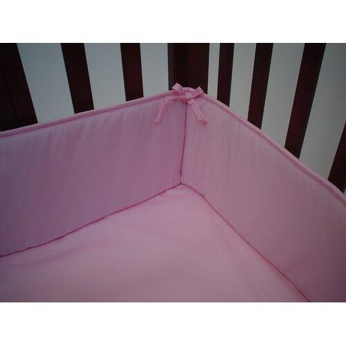 Percale Cotton Mini Crib Bumper