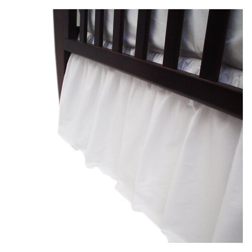 American Baby Company Percale Cotton Dust Ruffle