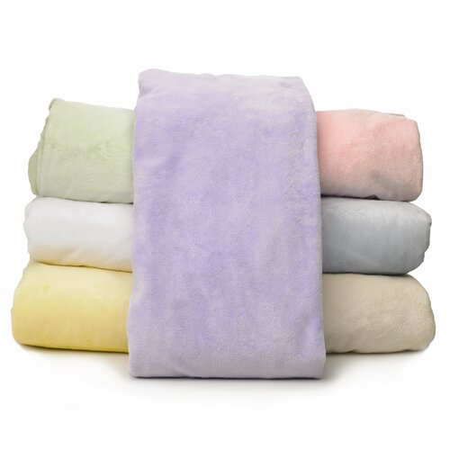 American Baby Company Heavenly Soft Chamois / Chenille Bassinet Sheet