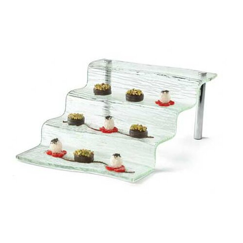 Tablecraft Cristal Acrylic 4 Step Appetizer Waterfall