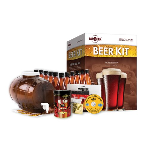 mr beer craft beer kit reviews wayfair. Black Bedroom Furniture Sets. Home Design Ideas
