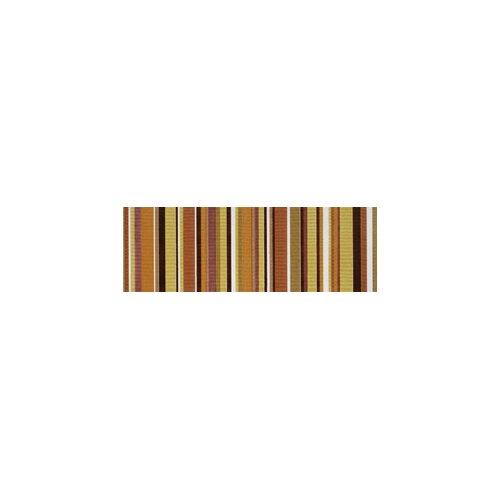 "Interceramic Aquarelle 4"" x 12"" Ceramic Wall Tile in Red Listel Stripes"