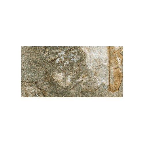 "Marazzi Vesale Stone 10"" x 20"" Modular Tile in Moss"