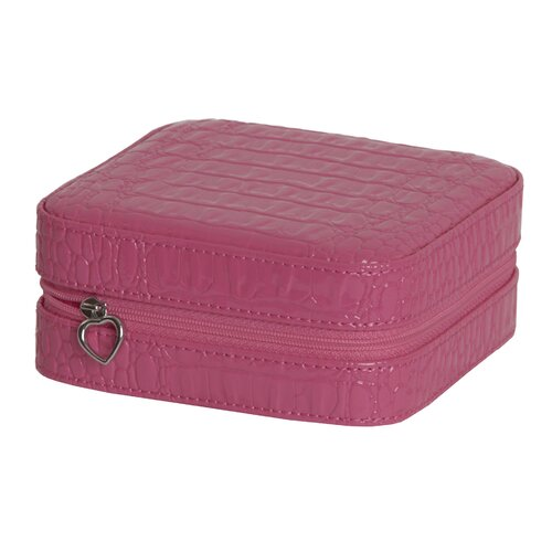 Josette Croco Travel Jewelry Case