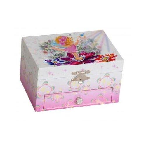 Ashley Girl's Musical Ballerina Jewelry Box